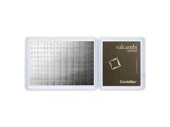 Sztaba srebra VALCAMBI CombiBar 100 x 1 g