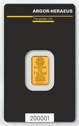 Sztaba złota LBMA 2 g