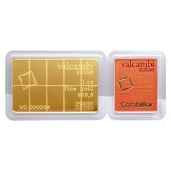 Sztaba złota VALCAMBI CombiBar 10 x 1/10 oz