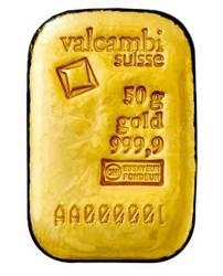 Sztaba złota lana LBMA 50 g 24H